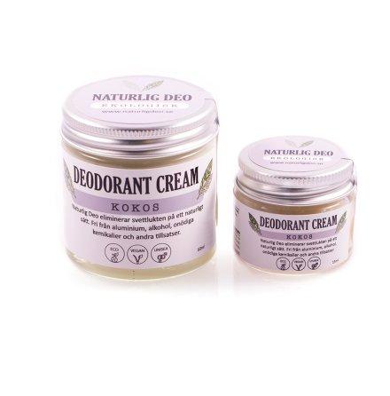 Deodorant kräm Kokos